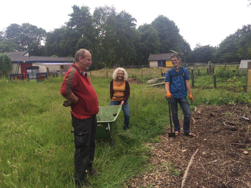 Samen maken we een fruitpark in de Veenweide