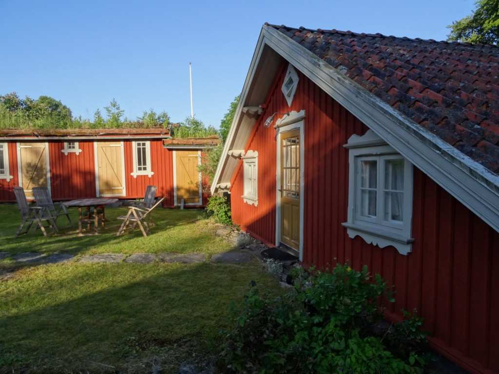 Our small single-room summer house rental.