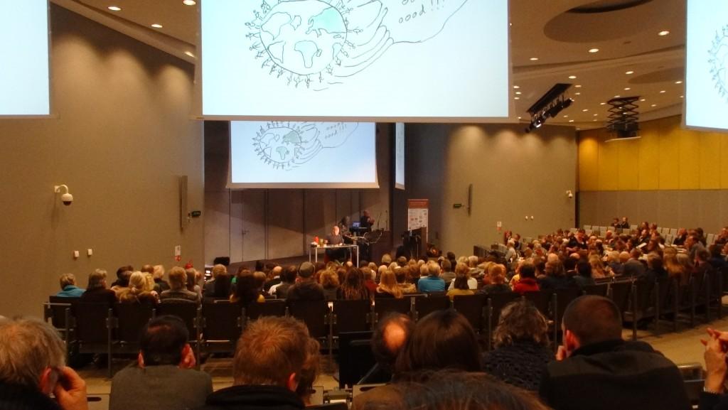 Wageningen UR Orion voor de plenaire lezingen.